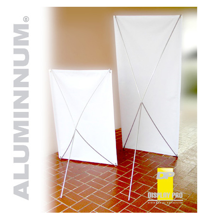 X - Banner DisplayPro Aluminnum (Modelo con centro metálico)
